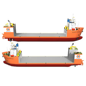 heavy lift vessel 3D model