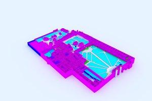 palace topkapi 3D model