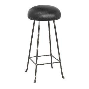3D rose uniacke upholstered bar stool