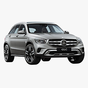 2020 mercedes-benz glc 3D model