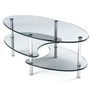 coffee table ryan 3D model