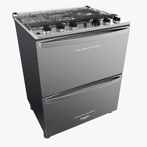 3D double oven cooker
