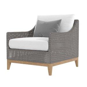 3D chair paraiso lounge model