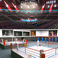 Boxing Arena and Boxing Gym
