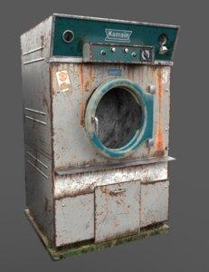 old dryer hospital 3D model