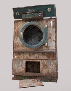 old dryer hospital 3D