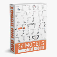 34 ABB Industrial Robots Collection