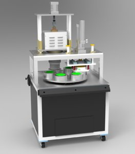 3D cup-mask-production-machine cup mask machines model