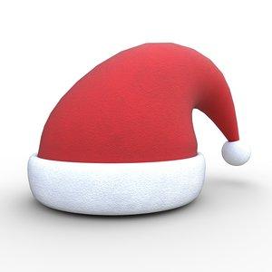 christmas santa claus hat model