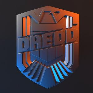 judge dredd badge 3D model