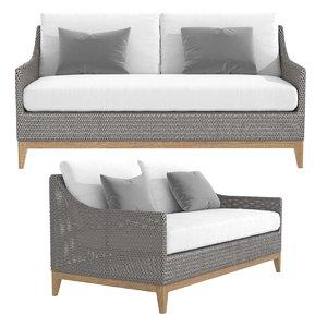 sofa 62 paraiso 3D model