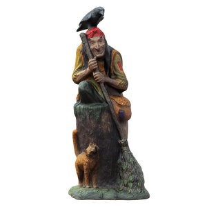 3D sculpture fairy-tale character baba model