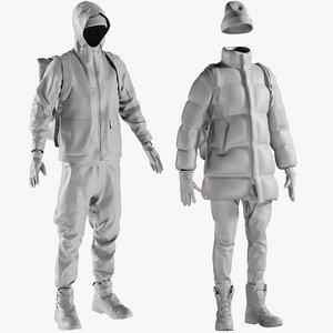mesh clothing 21 - model