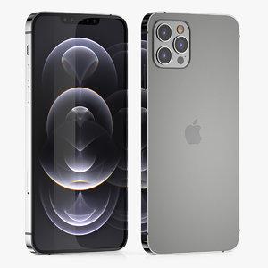 3D apple iphone phone