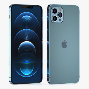 apple iphone phone 3D model