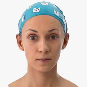 athena human head upper 3D