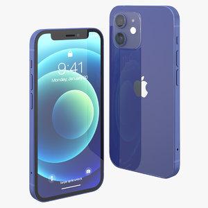 apple iphone 12 mini 3D model
