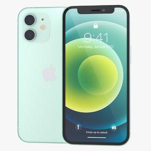 apple iphone 12 mini 3D