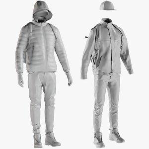 3D mesh clothing 22 -