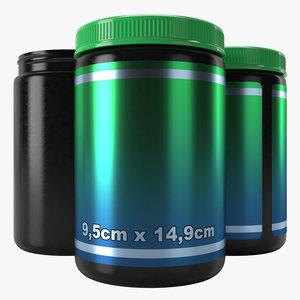 3D plastic container type6