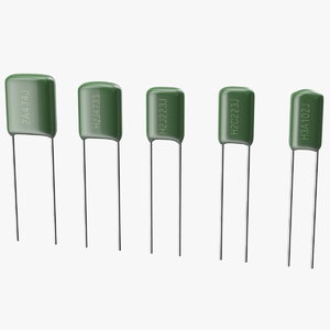 3D mylar polyester film capacitor