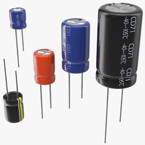 aluminum electrolytic capacitor set model