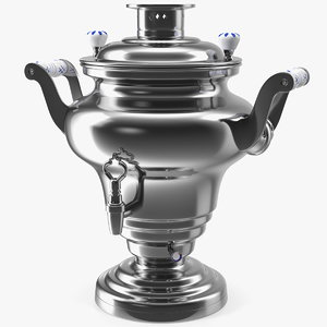 3D electric russian samovar kettle