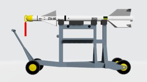 maa-1 piranha 3D model