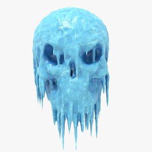 skull dirty 3D model