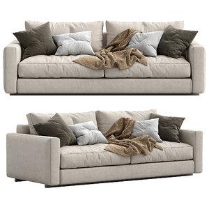 ferlea sofa simple 3D model