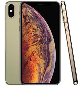 apple iphone xs gold 3D model