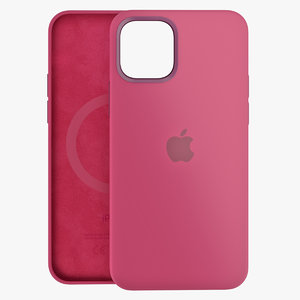 3D iphone 12 silicone case