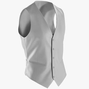 3D mesh waistcoat -
