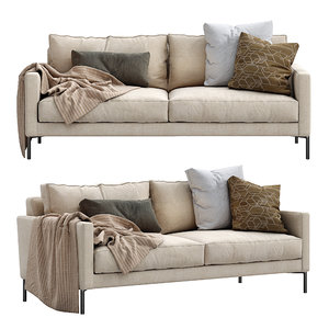 interface sofa luca 3D