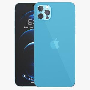 3D apple iphone 12 pro model