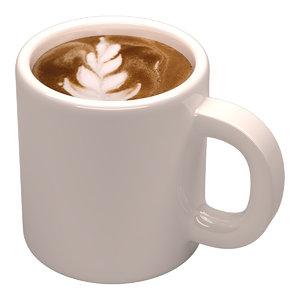 sparkling coffee mug 3D model