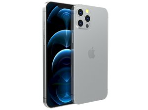 apple iphone pro 3D model