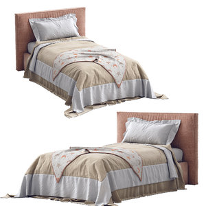 flexteam single bed miller 3D model