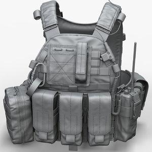 modular ammunition zbrush 3D