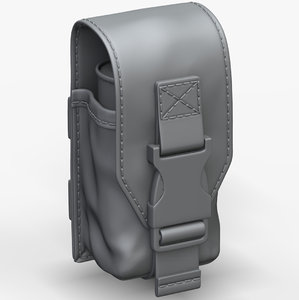 3D smoke grenade pouch