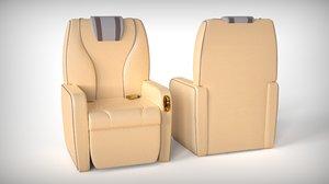 private jet seat model