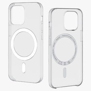 3D iphone 12 mini clear