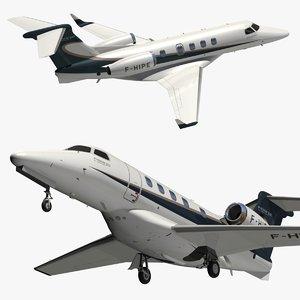 3D embraer phenom 300 model
