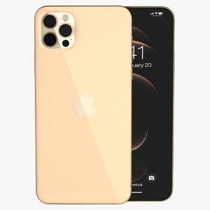 3D apple iphone 12 pro