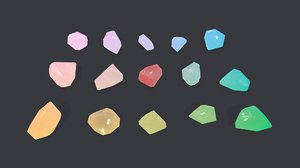 3D crystal