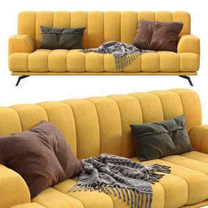 chloe sofa papadatos 3D model