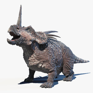 styracosaurus 3D model
