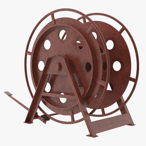 mooring rope reel dirt model