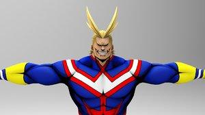3D hero