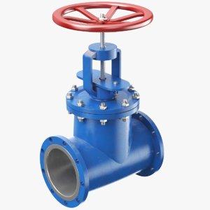 3D model real valve